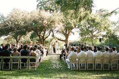 Four Seasons Austin Outdoor Wedding Ceremony
