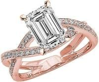 Emerald Cut Diamond Engagement Ring: A Sophisticated Choice.