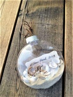 Beautiful Coastal Christmas Decor Ideas For Apartment To Try - Weihnachten Beach Christmas Ornaments, Coastal Christmas Decor, Nautical Christmas, Christmas Crafts, Christmas Decorations, Diy Ornaments, Coastal Decor, Christmas 2019, Christmas On The Beach