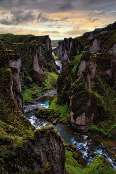 Ice Age Canyon by Vincent James on 500px ...... Fjaðrárgljúfur - Ice Age Canyon - Southeast Iceland