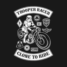 Awesome 'Stormracer' design on TeePublic!