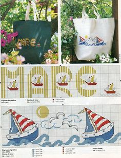 Cross Stitch Sea, Cross Stitch For Kids, Cross Stitch Charts, Cross Stitch Patterns, Christmas Embroidery Patterns, Embroidery Designs, Le Point, Diy Crafts, Fifa