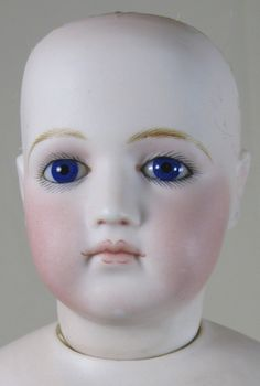 Antique Jumeau Portrait Face French Fashion Doll Poupee from victoriasdollhouse on Ruby Lane