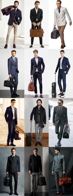 Men's Business Travel Outfit Inspiration Lookbook