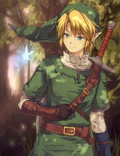 Link and Navi, I'm gonna draw this ♥