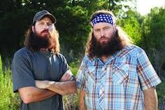 Brothers. Jase & Willie Robertson