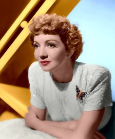 "CLAUDETTE COLBERT. Born: September 13,1903, Val-de-Marne, France. Died: July 30, 1996 (age 92) after a series of strokes in Speightstown, Barbados. Known for, ""Cleopatra"" (1934) ""It Happened One Night""(1934) for which she won an Oscar for Best Actress. She did TV specials & had a supporting role in a notable TV movie, The ""Two Mrs. Grenvilles"" (1987) (TV), for which she received a Golden Globe award. Twice appeared with fellow Academy Award winner Rex Harrison late in their careers in…"