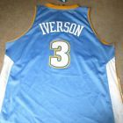 For Sale - NEW NWT ALLEN IVERSON DENVER NUGGETS SEWN ADIDAS SWINGMAN BASKETBALL JERSEY XL - See More At http://sprtz.us/NuggetsEBay