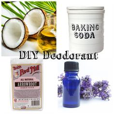 Here's a mega simple DIY deodorant recipe using ingredients that you probably already have at home! via @Vegan Beauty Review