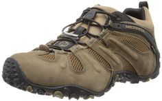Merrell Men's Chameleon Prime Stretch Waterproof Hiking Shoe,Canteen/Brown