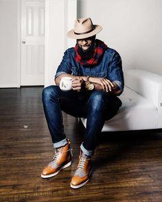 Black Men Fall Fashion, Autumn Winter Fashion, Mens Fashion, Fall Winter, Stylish Men, Men Casual, Smart Casual, Casual Wear, Winter Essentials For Men