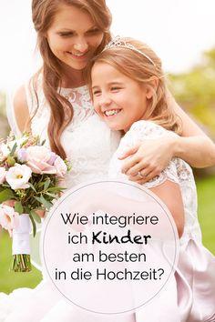 Lädt man die Kinder von Freunden und Bekannten zur Hochzeit ein oder nicht? Und wie sorgt man dafür, dass die Trauung für das eigene Kind etwas ganz Besonderes wird?