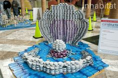 Loggerhead turtle canstruction 2013 canstruction at for Design consulting nyc
