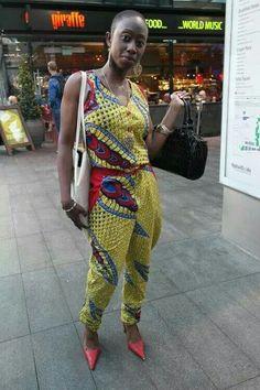 Jumpsuit #africanprint