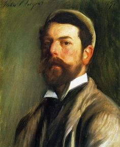 Self-Portrait - John Singer Sargent - Completion Date: 1892
