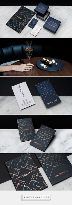Mosquito from Glasfurd & Walker Design … – a grouped picture - corporate branding identity Graphisches Design, Logo Design, Brand Identity Design, Graphic Design Branding, Stationery Design, Packaging Design, Print Design, Design Cars, Luxury Graphic Design