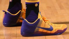 Nike Kobe 11 Purple/Yellow PE