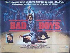 BAD BOYS (1983) Original British Quad Poster