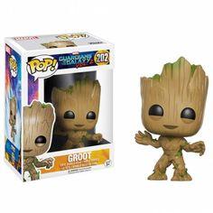 Funko Pop Marvel, Marvel Dc, Marvel Comics, Mundo Marvel, Disney Marvel, Baby Groot, Groot Toy, Funk Pop, Groot Figurine