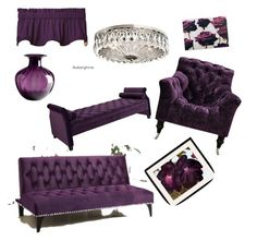 Designer Clothes, Shoes & Bags for Women Purple Chair, Jennifer Taylor, Graham Brown, Purple Love, Interior Decorating, Interior Design, Classy Chic, Upholstery, Couch
