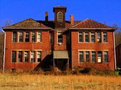 Schoolhouse at Albright, WV, Preston County, Monongahela Valley Region Virginia Hill, West Virginia History, Back In The Day, Preston, Schools, Abandoned, Homeschool, Explore, Mansions