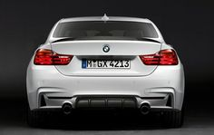 So, this is how the BMW 4-Series coupe looks like with sporty M parts