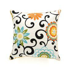 Ply Cotton Throw Pillow