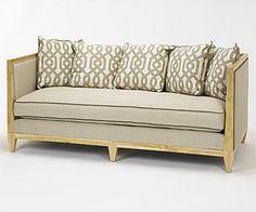 via Art Shoppe. Panama Sofa.