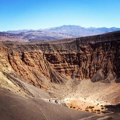 Ubehebe Crater, Death Valley NP