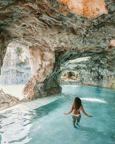 Tulum, Mexico. cave