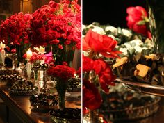 decoracao casamento vermelho preto disegno ambientes leopolldo