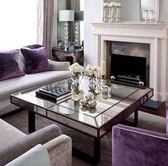 Purple & mirror