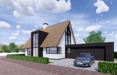 New Homes, Cabin, House Design, House Styles, House Ideas, Home Decor, Dreams, Decoration Home, Room Decor