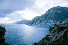 The Amalfi Coast's famous rocky cliffs #Italy #travel #cruise