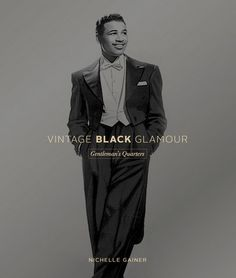 Pre-order begins today for my next book, Vintage Black Glamour: Gentlemen's Quarters! We are still tweaking things a bit (including the final cover) but you can go to http://bit.ly/VBGmensbook right now and pre-order. Publication date: Early 2016. You can also still buy the women's book, Vintage Black Glamour HERE.  And, yes, that is boxing legend Sugar Ray Robinson.