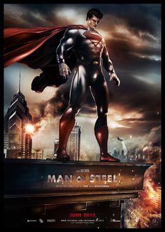 Man of Steel Poster Art