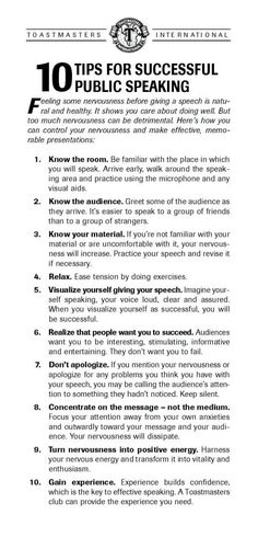 public speaking tips #publicspeaking