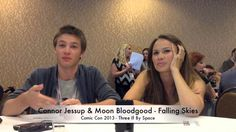 Comic Con News: Connor Jessup and Moon Bloodgood Talk Falling Skies Season 3. Connor is so funny