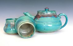 two of my favorite things: teapot and turquoise