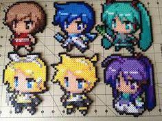 Meiko, Kaito, Miku, Rin, Len, Gakupo - Vocaloid