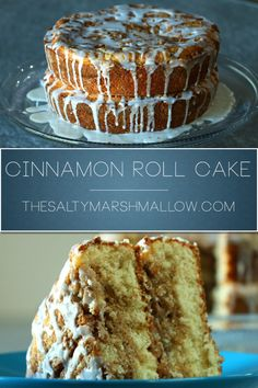 Easy Cinnamon roll cake that is super soft oozing with warm cinnamon and velvety cinnamon/vanilla icing.