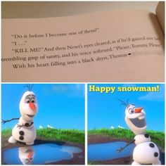 Yes. Yes. Yes. Thank u Olaf. There are people in this world like James Dashner that are not grateful for the greatness of NEWT