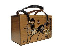 Vintage Enid Collins Purse  Original Box Purse by AGoGoVintage, $210.00