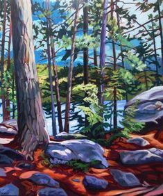 4925765c2c556 A View from the Trail, Algonquin. Landscape Sketch, Landscape Art, My Arts