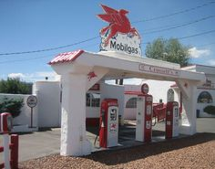 old gas stations   RV Short Stops: Step back in time at old gas station and cafe