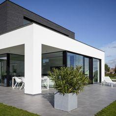Home Building Design, Home Room Design, Building A House, House Design, Minimalist Architecture, Modern Architecture House, Architecture Plan, Large Homes Exterior, Exterior Design