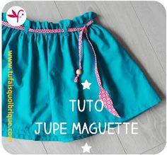 Jupe Maguette - Tuto gratuit de jupe filette