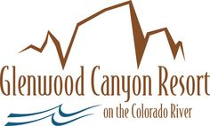 The Glenwood Canyon Resort Logo Glenwood Canyon, Adventure Center, Resort Logo, Colorado River, Cabins, Logos, Sweet, Candy, Logo