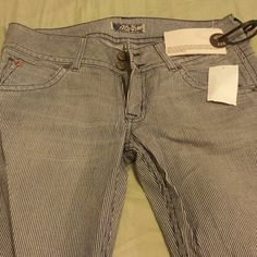 Hudson Jeans Striped Boot Leg New with tags Hudson Jeans Pants