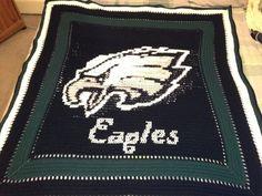CitiUSA - Philadelphia Eagles Crochet Afghan Graph Pattern- DOWNLOADABLE!, $5.95 (http://www.citiusa.com/philadelphia-eagles-crochet-afghan-graph-pattern-downloadable/)